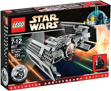 【中古】おもちゃ LEGO レゴ ダース・ベイダーのTIEファイター 「スター・ウォーズ」 8017