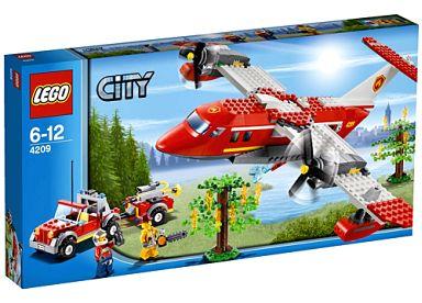 【中古】おもちゃ LEGO フォレストファイヤー プレーン 「レゴ シティ」 4209