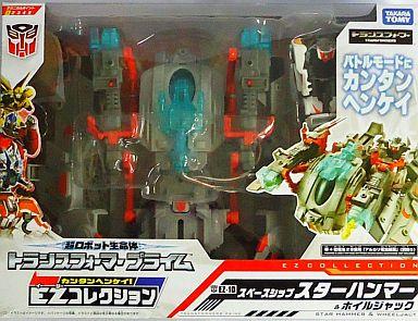 【中古】おもちゃ EZ-10 ホイルジャックwithスペースシップ 「トランスフォーマープライム」