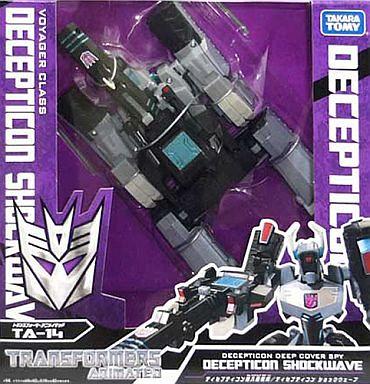【中古】おもちゃ TA-14 ディセプティコン ショックウェーブ 「トランスフォーマー アニメイテッド」