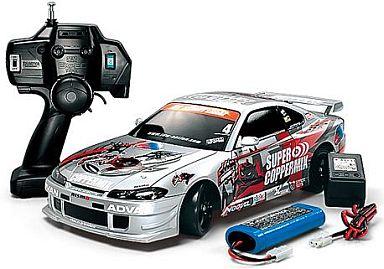 【中古】ラジコン 車(本体) ラジコン 1/10 XB COPPERMIXシルビア(TT01D) 「エキスパート ビルトシリーズ」 [57765]