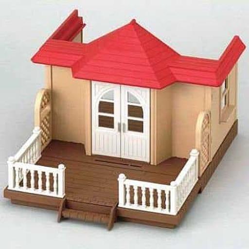 【中古】おもちゃ テラスのすてきなお家 「シルバニアファミリー」