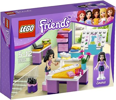 【中古】おもちゃ LEGO デザインスタジオ 「レゴ フレンズ」 3936