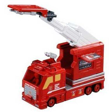【中古】おもちゃ コンテナはしご消防車 「トミカ ハイパーレスキュー」