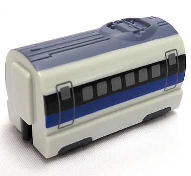 【中古】おもちゃ 500系新幹線 中間車 「ミニモータートレイン第71弾 日本の列車スペシャル2」