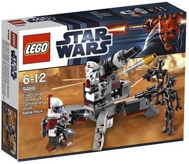 【中古】おもちゃ LEGO エリート・クローンVSコマンド・ドロイド バトルパック 「レゴ スター・ウォーズ」 9488