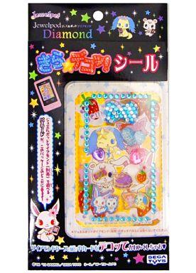 【中古】おもちゃ ジュエルポッドダイアモンド きら☆デコッシール 17 「ジュエルペット」