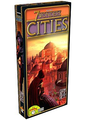 【中古】ボードゲーム 世界の七不思議:都市 多言語版 (7 Wonders: Cities)
