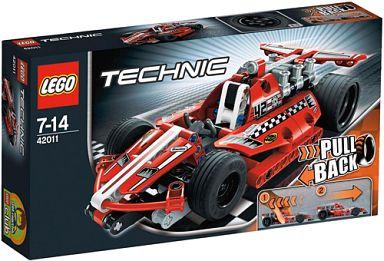 【中古】おもちゃ LEGO レースカー 「レゴ テクニック」 42011