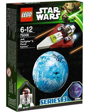 【中古】おもちゃ LEGO ジェダイ・スターファイターとカミーノ 「レゴ スター・ウォーズ」 75006