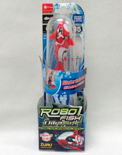 【中古】おもちゃ ロボフィッシュ ロボシャーク レッド