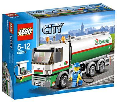 【中古】おもちゃ LEGO タンクローリー 「レゴ シティ」 60016