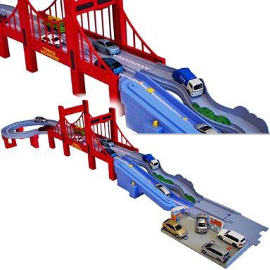 【中古】おもちゃ トミカ すいすいロード 大鉄橋セット