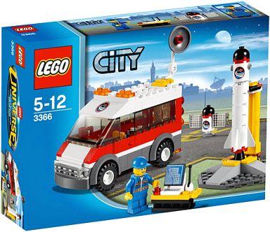 【中古】おもちゃ LEGO サテライトバン 「レゴ シティ」 3366