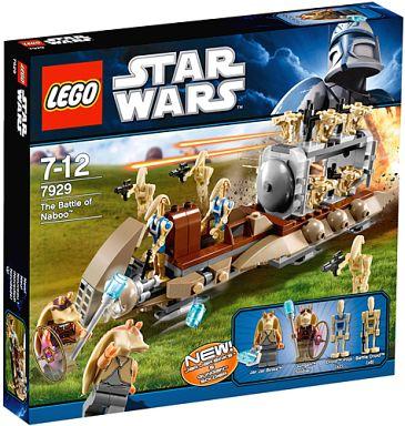 【中古】おもちゃ LEGO ナブーの戦い 「レゴ スター・ウォーズ」 7929
