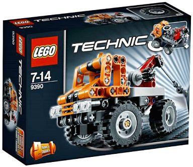 【中古】おもちゃ LEGO ミニレッカー車 「レゴ テクニック」 9390
