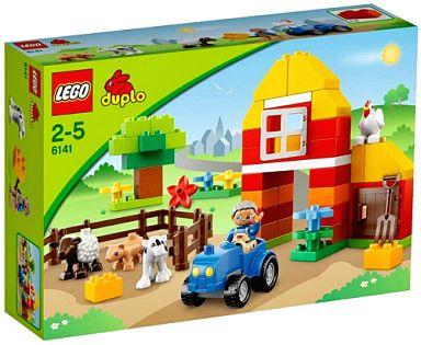【中古】おもちゃ LEGO はじめての農場セット 「レゴ デュプロ」 6141