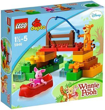 【中古】おもちゃ LEGO ティガーのおでかけ 「レゴ デュプロ くまのプーさん」 5946