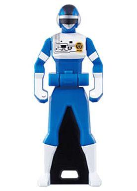 【中古】おもちゃ ブルースリー 「レジェンド戦隊シリーズ レンジャーキーシリーズ レンジャーキー05」
