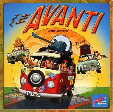 【中古】ボードゲーム アバンティ (Avanti)