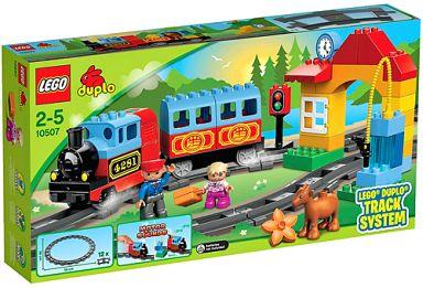 【中古】おもちゃ LEGO はじめてのトレインセット 「レゴ デュプロ」 10507