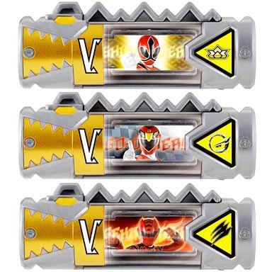 【中古】おもちゃ スーパー戦隊獣電池セット02 「レジェンド戦隊」