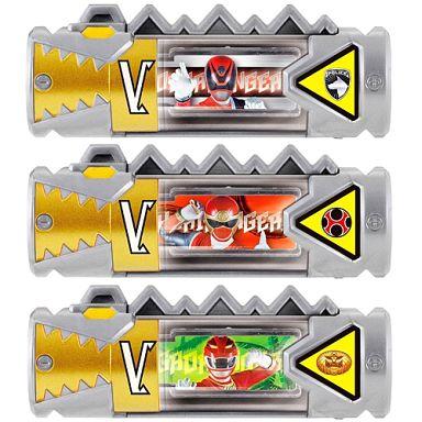 【中古】おもちゃ スーパー戦隊獣電池セット03 「レジェンド戦隊」