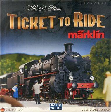 【中古】ボードゲーム チケット・トゥ・ライド メルクリン (Ticket to Ride:Marklin )