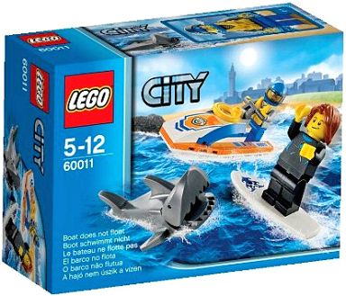 【中古】おもちゃ LEGO レスキュージェット 「レゴ シティ」 60011