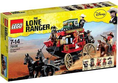 【中古】おもちゃ LEGO 馬車での逃走 「レゴ ローン・レンジャー」 79108