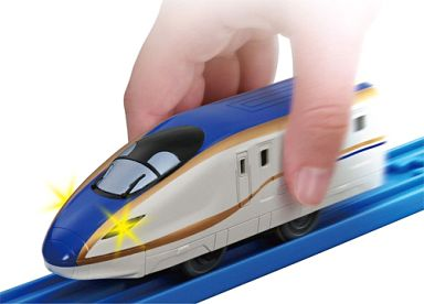 【中古】おもちゃ テコロジープラレール TP-06 E7系新幹線