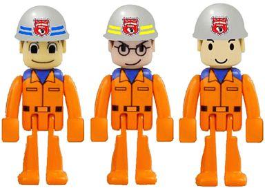 【中古】おもちゃ ハイパーレスキュー隊員セットB 「トミカハイパーシリーズ」