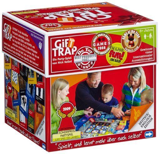 【中古】ボードゲーム ギフトトラップ ドイツ語・英語版(Gift Trap)