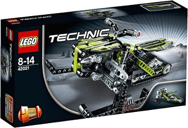 【中古】おもちゃ LEGO スノーレーサー 「レゴ テクニック」 42021