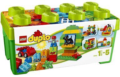 【新品】おもちゃ LEGO みどりのコンテナデラックス 「レゴ デュプロ」 10572