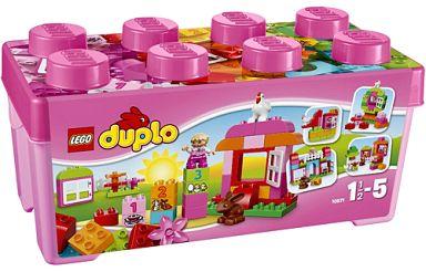 【新品】おもちゃ LEGO ピンクのコンテナデラックス 「レゴ デュプロ」 10571