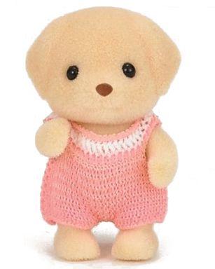 【中古】おもちゃ ラブラドールの赤ちゃん 「シルバニアファミリー」
