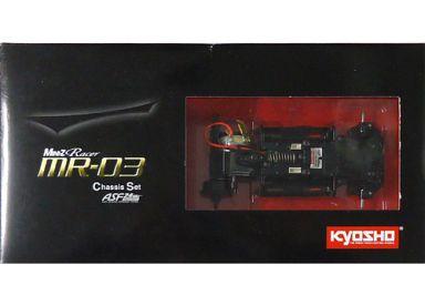 【中古】ラジコン 車(パーツ・アクセサリ) ラジコン用 ミニッツレーサー MR-03 シャシーセット ASF2.4GHzシステム搭載