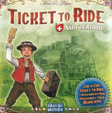 【中古】ボードゲーム チケット・トゥ・ライド スイス拡張セット (Ticket to Ride: Switzerland)