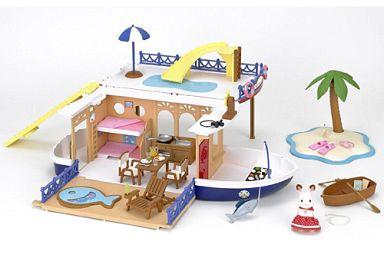 【中古】おもちゃ 大きな海のクルーズボート 「シルバニアファミリー」