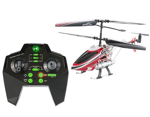 【中古】ラジコン 飛行機(本体) ラジコン 赤外線ヘリコプター AH(オートホバリング)-ファルコン