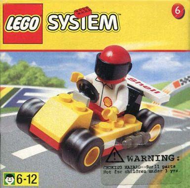 【中古】おもちゃ LEGO No.6 ゴーカート 「レゴ システム」 1251