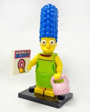 【中古】おもちゃ マージ・シンプソン 「LEGO ミニフィギュア ザ・シンプソンズシリーズ 71005」