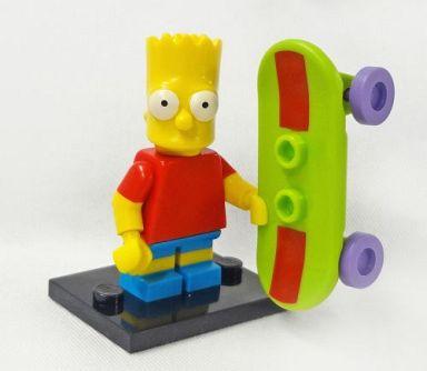 【中古】おもちゃ バート・シンプソン 「LEGO ミニフィギュア ザ・シンプソンズシリーズ 71005」