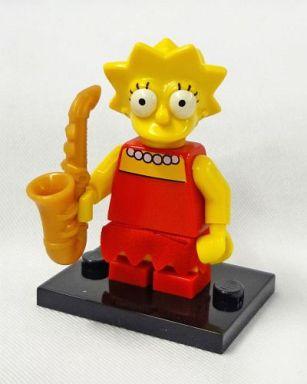 【中古】おもちゃ リサ・シンプソン 「LEGO ミニフィギュア ザ・シンプソンズシリーズ 71005」