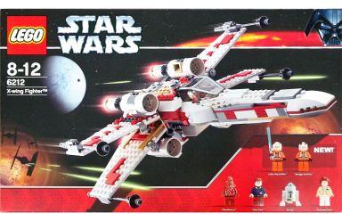 【中古】おもちゃ LEGO X-ウイングファイター 「レゴ スター・ウォーズ」 6212