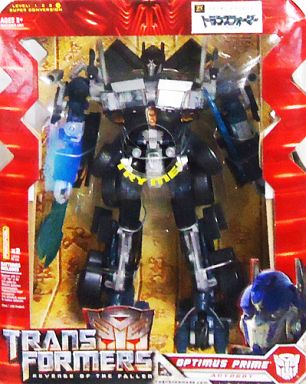 "Optimus Prime Black Ver. Limited Edition ""Transformers Revenge"""