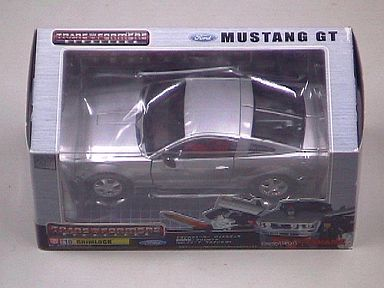 "BT 10 Grim Rock feat. Ford Mustang GT ""Transformers Binaltech"""