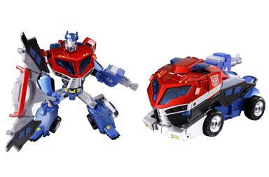 【中古】おもちゃ [ランクB] TA-01 オプティマスプライム 「トランスフォーマー アニメイテッド」