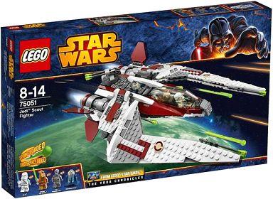 【中古】おもちゃ LEGO ジェダイ・スカウトファイター 「レゴ スター・ウォーズ」 75051
